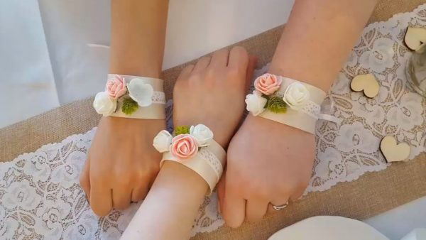 Esküvői karkötő