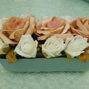 Esküvői vegyes tartós virág