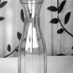 Esküvői vastag bordázott váza bérlés