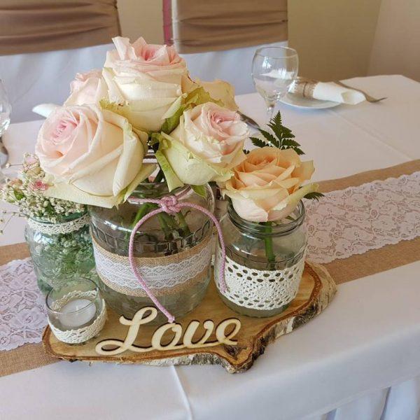 f968678beb Esküvői virágtartó bérlés - MerciDekor.hu - Személyre szabott dekoráció