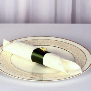 Esküvői zöld szalvéta